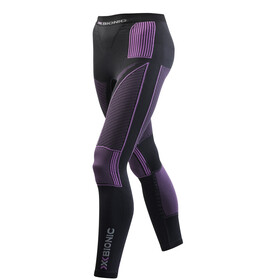 X-Bionic Accumulator Evo UW Long Pants Women Charcoal/Fuchsia